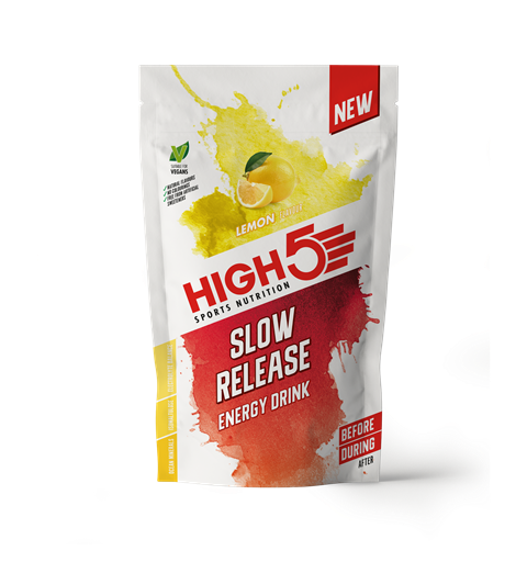 HIGH5 Energy Drink SRC Sitron 1kg, Pulver - Slow Release Carbs